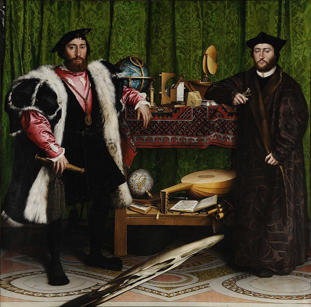 Hans Holbein the Younger's The Ambassadors for Bridewell Blog