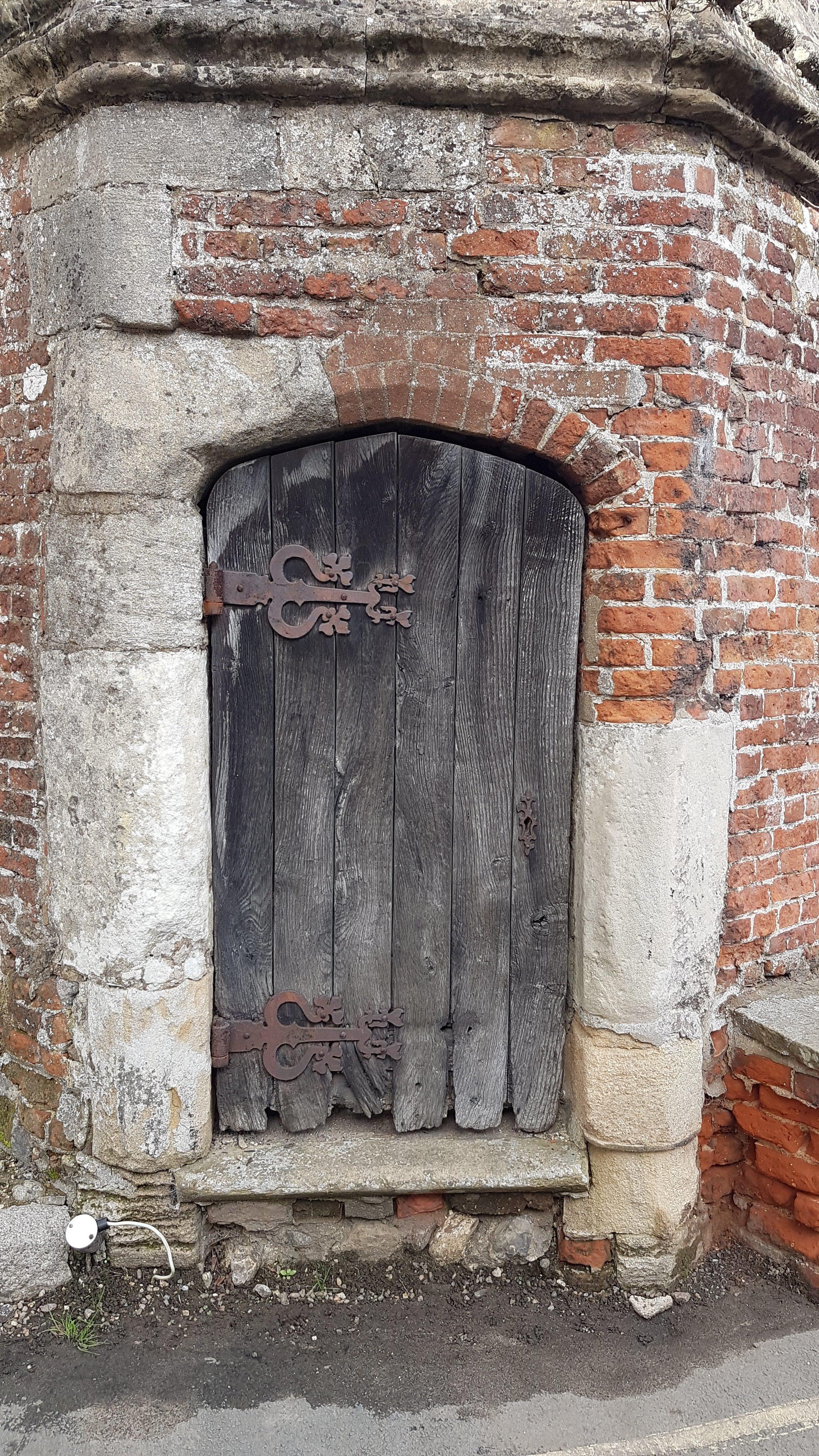 Door, close-up.