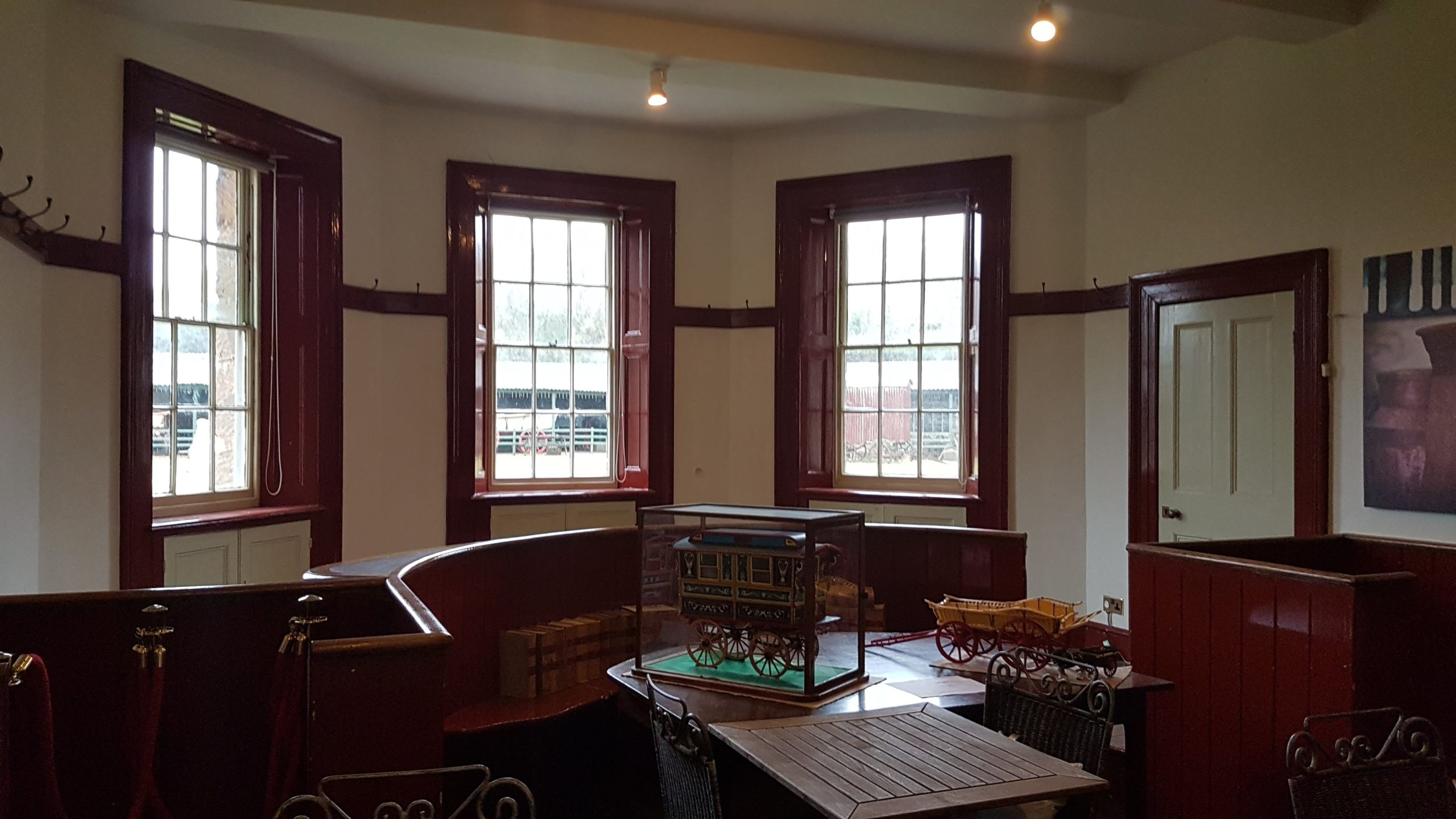 The Northleach Petty Sessions courtroom. Located in the old Keeper's House