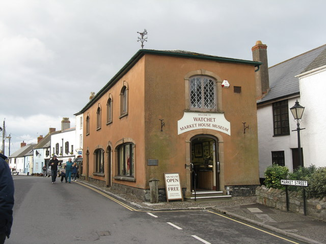 Front of Market House (now museum)