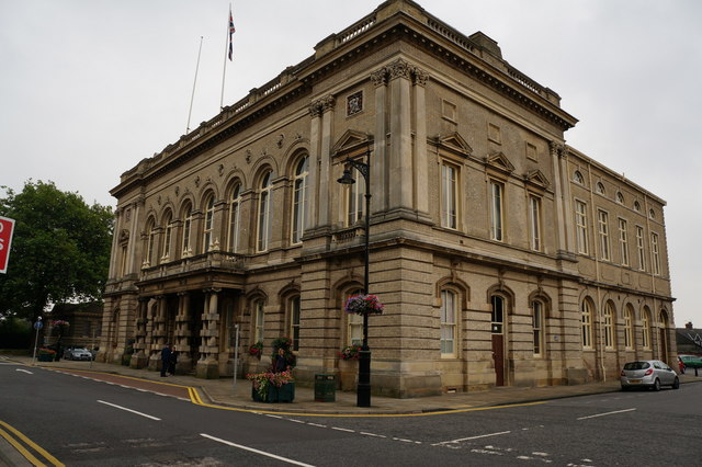 Exterior, Town Hall, Grimsby