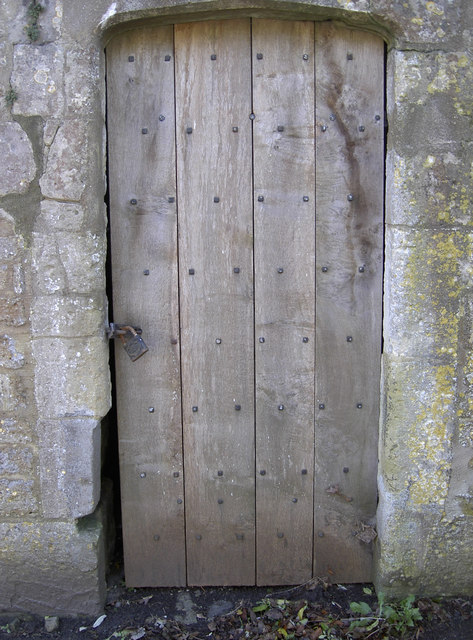 Lock-up door - new timber
