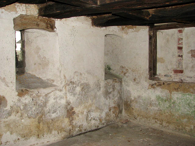 The Crypt, or Cell, underneath the chancel