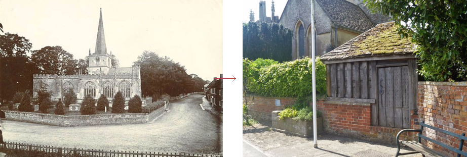 Bromham lock-up, before and after - historic images of lock-ups, by Prison History