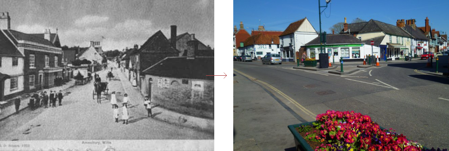 Amesbury lock-up, before and after - historic images of lock-ups, by Prison History