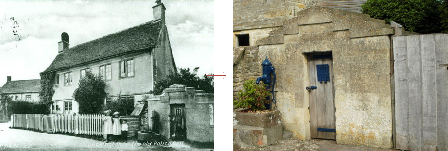 Luckington lock-up, before and history - historic images edition blog, by Prison History