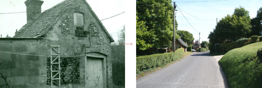 Great Bedwyn lock-up, before and history - historic images edition blog, by Prison History