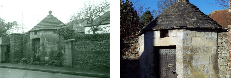 Heytesbury lock-up - historic images before and after, by Prison History
