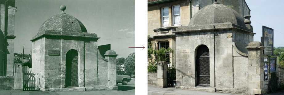 Box Blind House, before and after - historic images of lock-ups, by Prison History