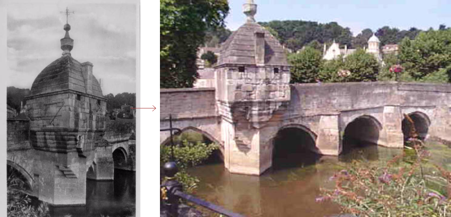 Bradford on Avon lock-up, before and after - historic images of lock-ups, by Prison History