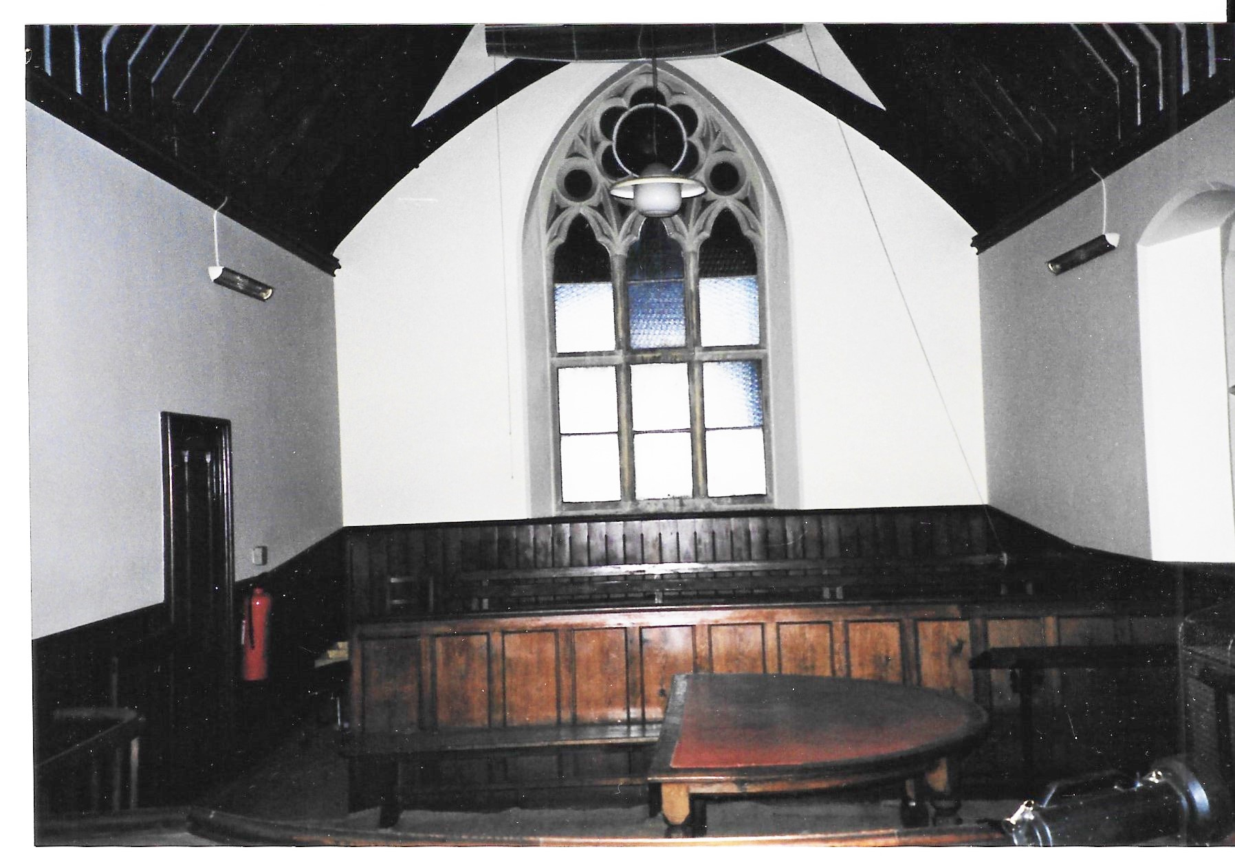 Courtroom - view from the bench