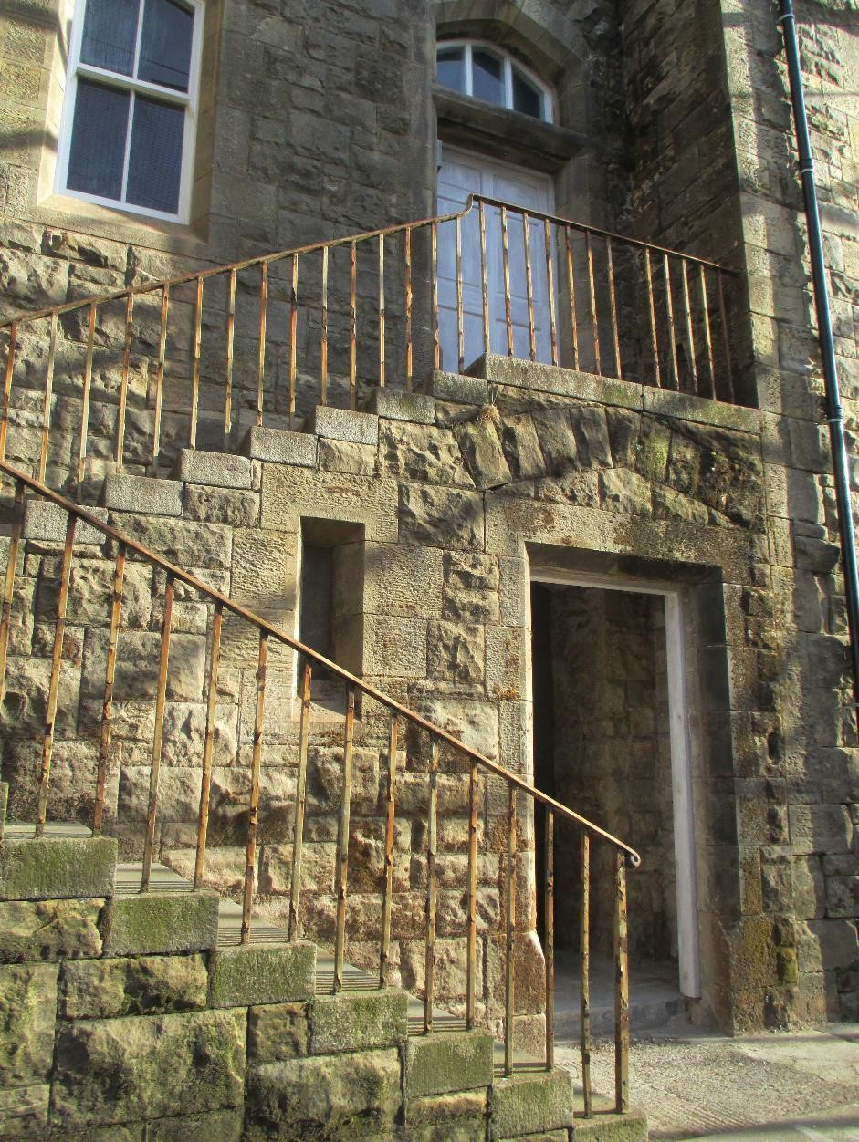RIC Barracks, exterior staircase