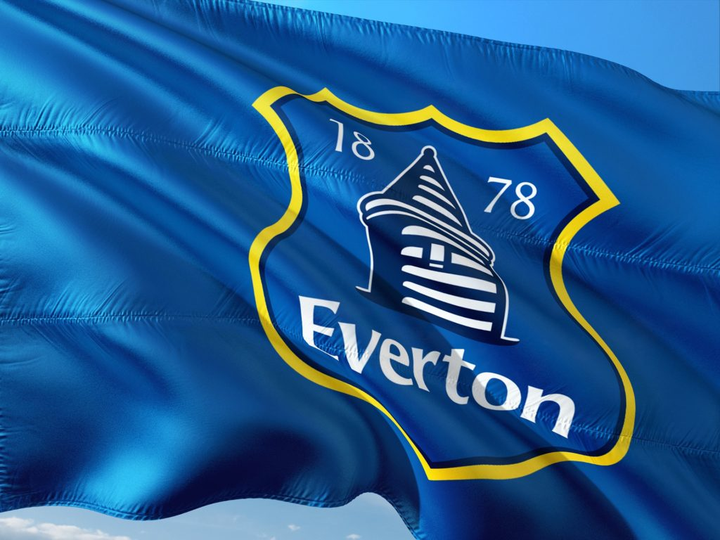 Everton FC bage for lock-up, prison & football badges blog - Image by Ronny K from Pixabay