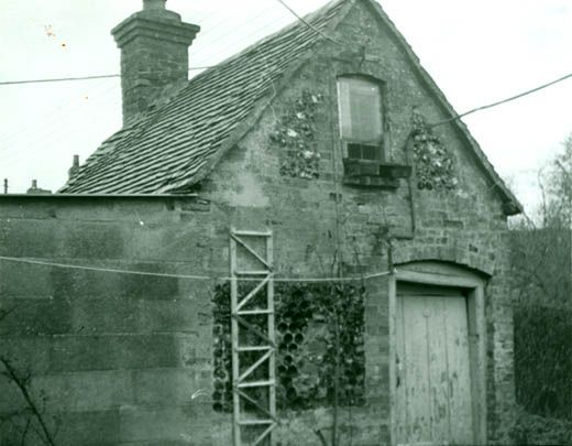 Photograph, close up of lock-up at Great Bedwyn, Wiltshire 1960s
