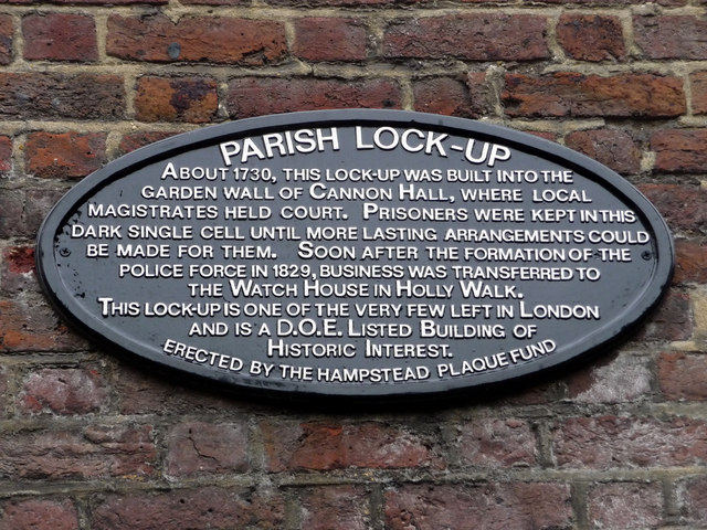 Parish lock up