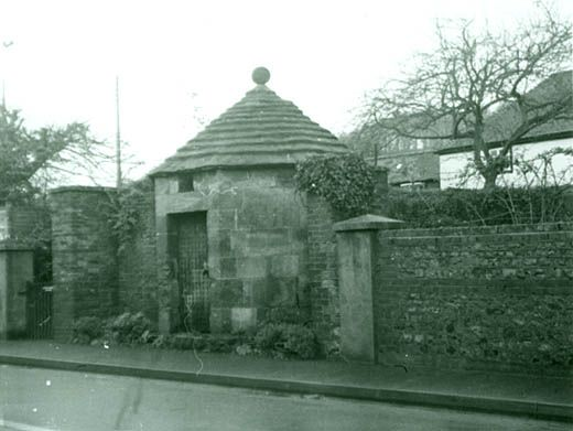 Photograph, Blind House, High Street, Heytesbury, Wiltshire, 1960s