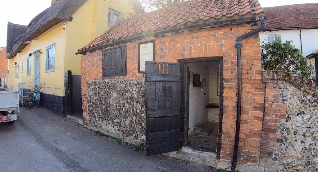 Great Bardfield Cage lock-up - front of the building