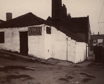 West end of the River Police Station, Newcastle upon Tyne, Unknown photographer, 1906