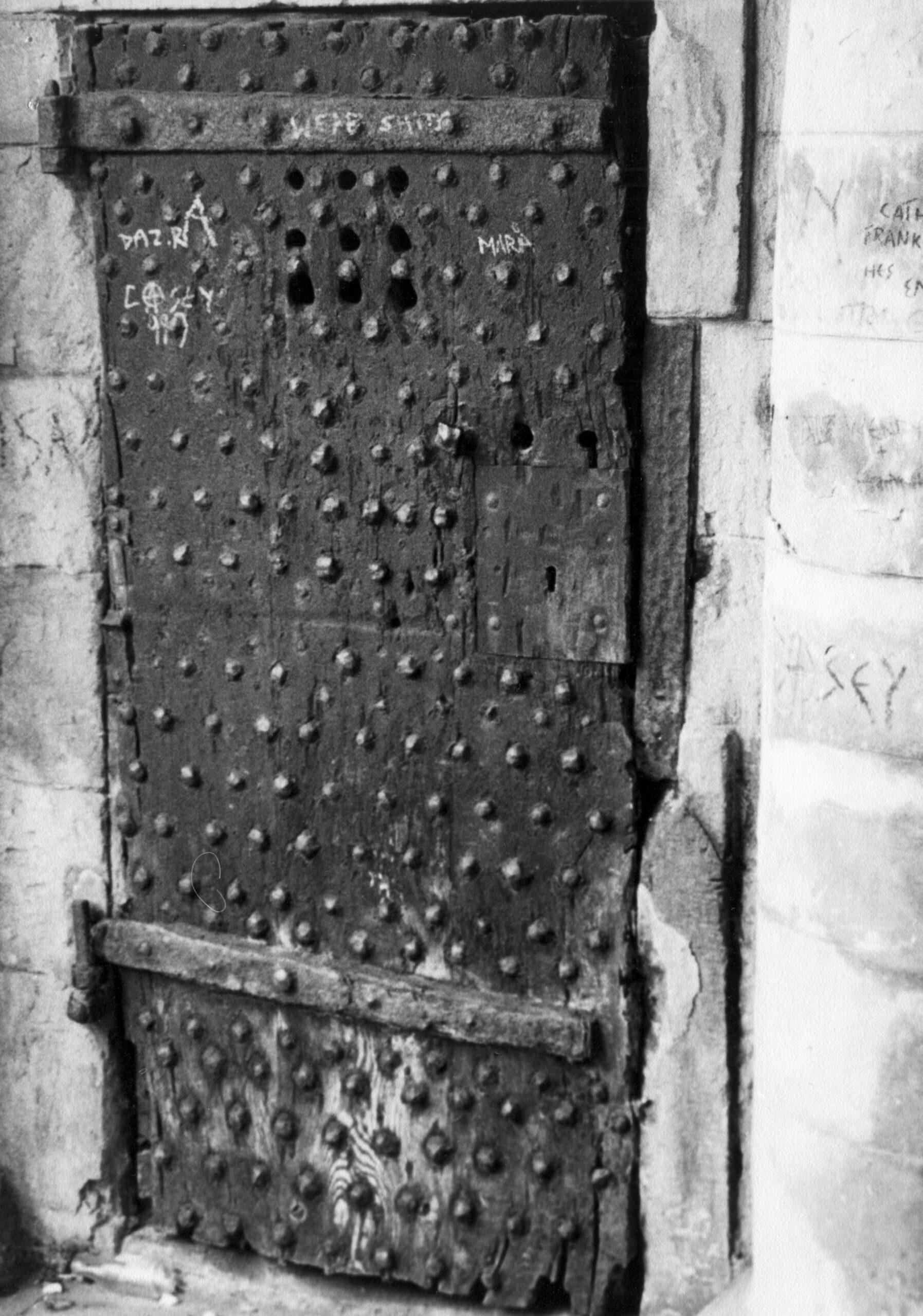 STH0012853 Old Jail House Door