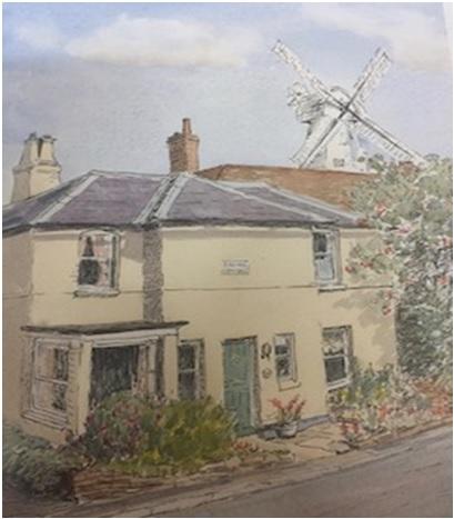 Spring Cottage, exterior