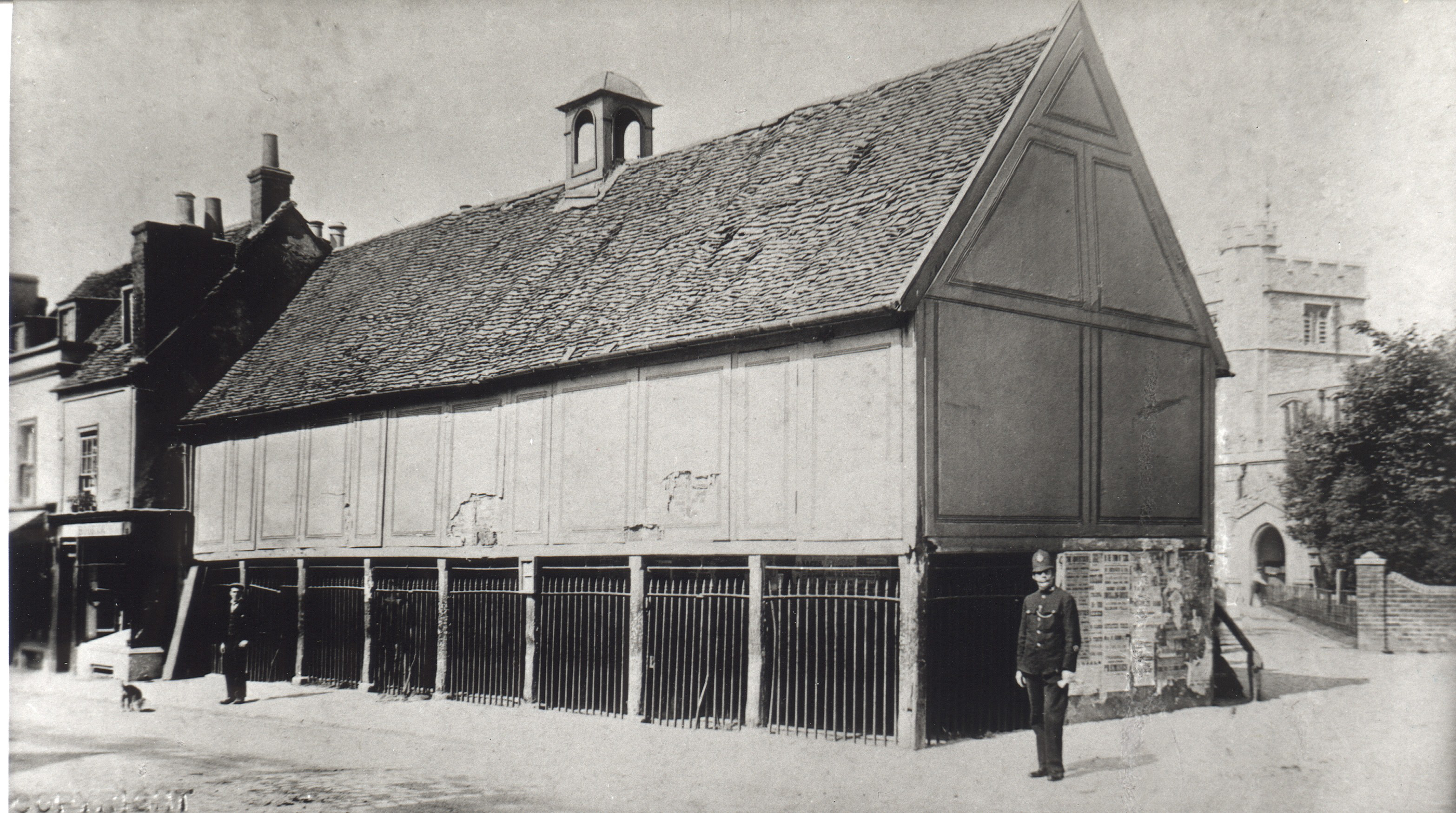 Tring Old Market House, 1890s