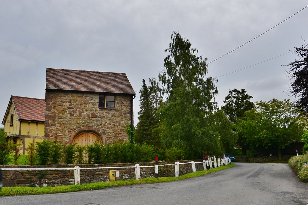 Yarpole: Cottage, a converted mill?