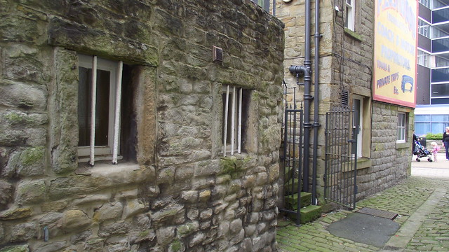 Lock Up, The Swan (Pub) St James Street, Burnley, Lancashire