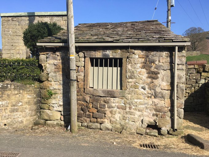 Exterior of the building popularly known as Eastby Jail.