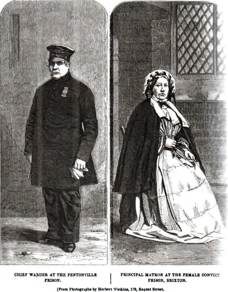 Prison Staff - from Henry Mayhew, The Criminal Prisons of London and Scenes of Prison Life (London, 1862)