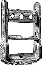 Pillory at Rye