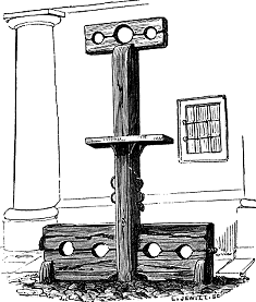 Pillory, Whipping-Post and Stocks, Wallingford